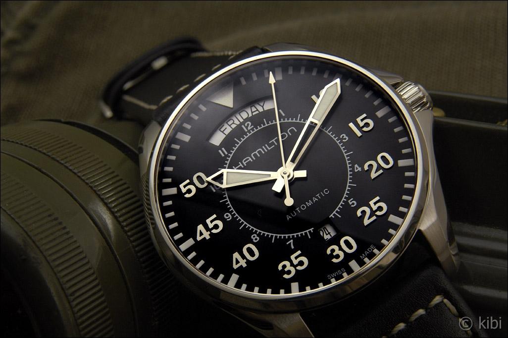Hamilton Khaki Aviation Pilot Day Date H64615735 - some pics 60bc0727c8